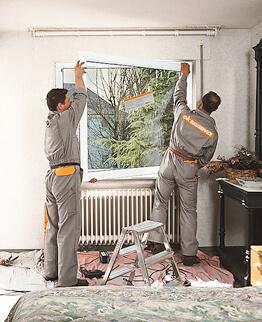 Fenstermontage Fertighaus